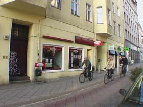Unser Ladenlokal in der Schönhauser Allee 185