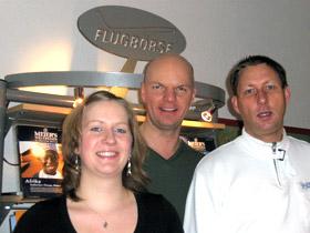 Das Team der Flugbörse Prenzlauer Berg